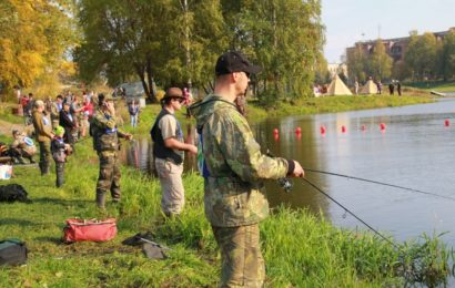 Чемпионат по рыбной ловле!