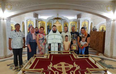 Состоялось таинство Крещения
